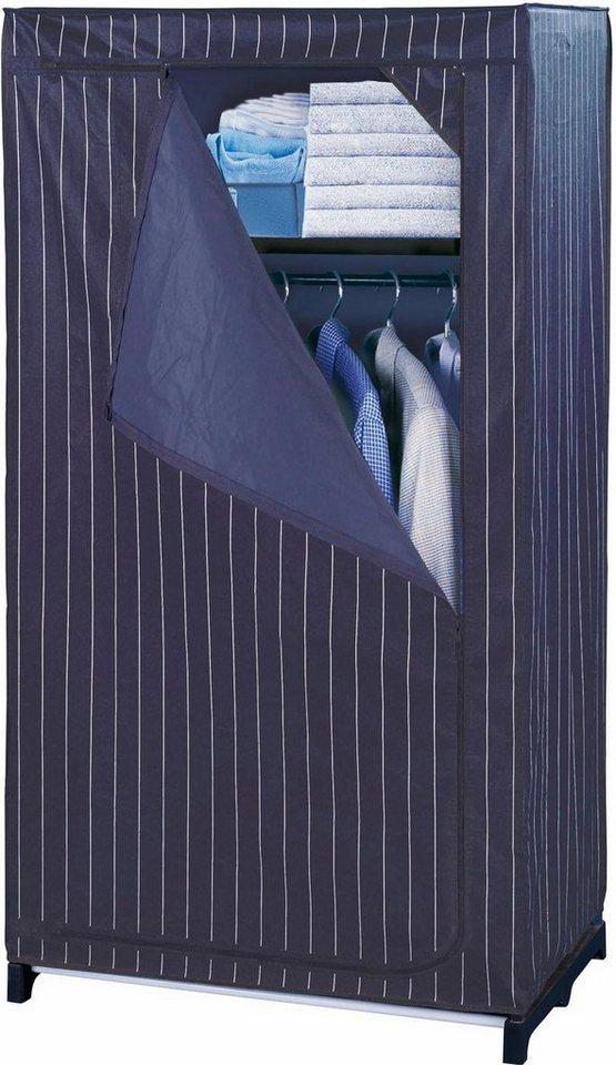 wenko kleiderschrank mit ablage comfort kaufen otto. Black Bedroom Furniture Sets. Home Design Ideas