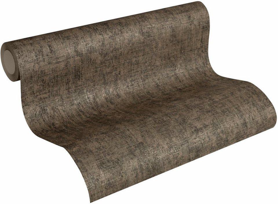 vliestapete livingwalls borneo 32261 unitapete vintage optik online kaufen otto. Black Bedroom Furniture Sets. Home Design Ideas