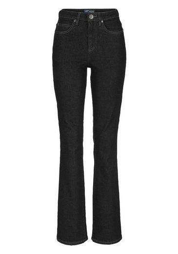 Arizona Bootcut-Jeans Comfort-Fit, High Waist