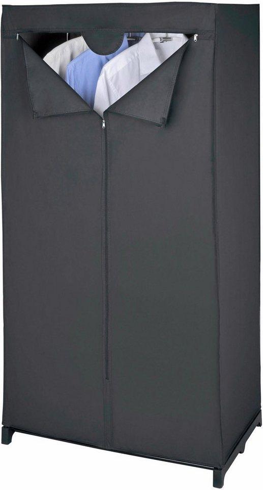 wenko kleiderschrank deep black online kaufen otto. Black Bedroom Furniture Sets. Home Design Ideas