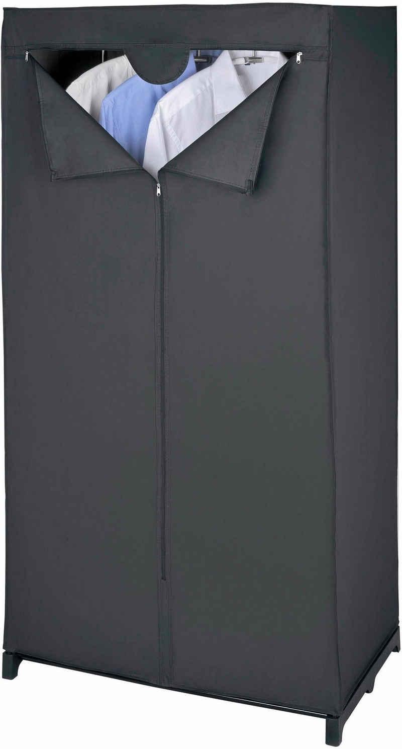 WENKO Kleiderschrank »Deep Black« Maße (B x H x T): 75 x 150 x 50 cm
