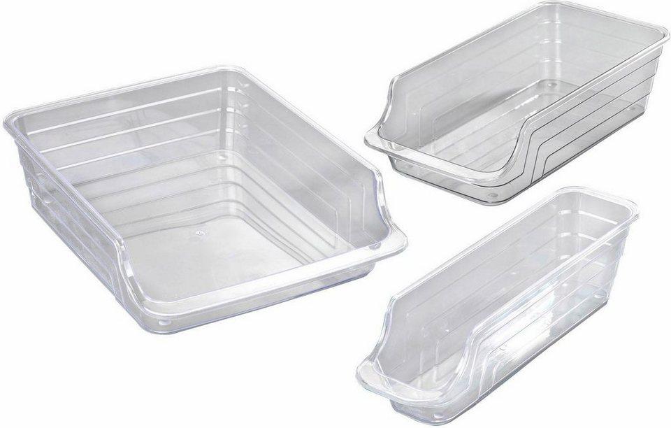 Kühlschrank Aufbewahrungsbox : Wenko kühlschrank organizer 3er set online kaufen otto