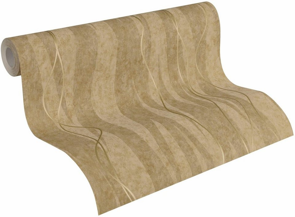 vliestapete livingwalls siena 32999 streifentapete online kaufen otto. Black Bedroom Furniture Sets. Home Design Ideas