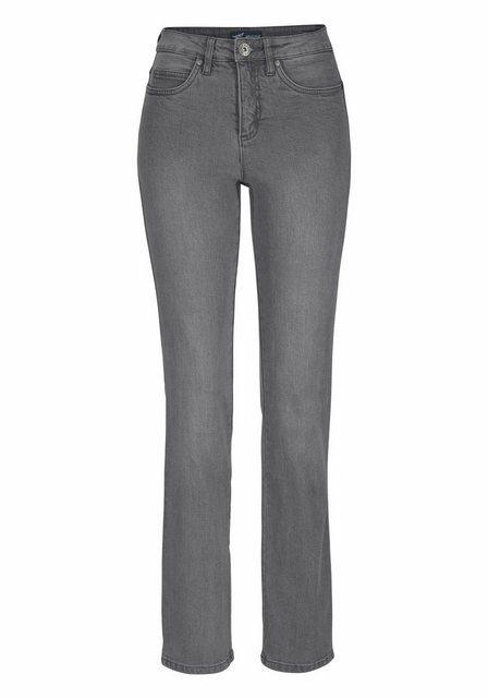 Hosen - Arizona Gerade Jeans »Comfort Fit« High Waist › grau  - Onlineshop OTTO