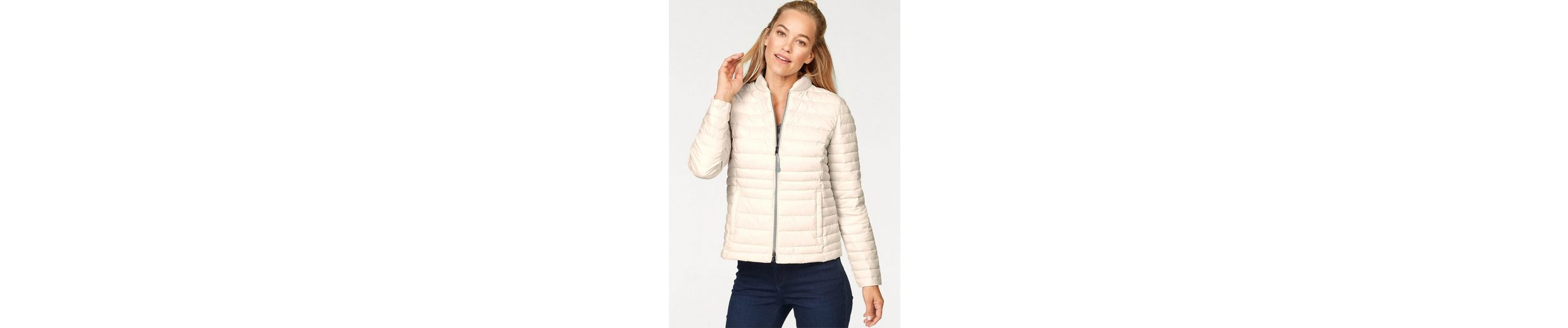 STREET ONE Steppjacke, leichte Steppjacke Karla mit extra Shopping-Bag