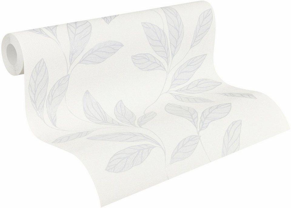 vliestapete livingwalls amory 32421 floral otto. Black Bedroom Furniture Sets. Home Design Ideas