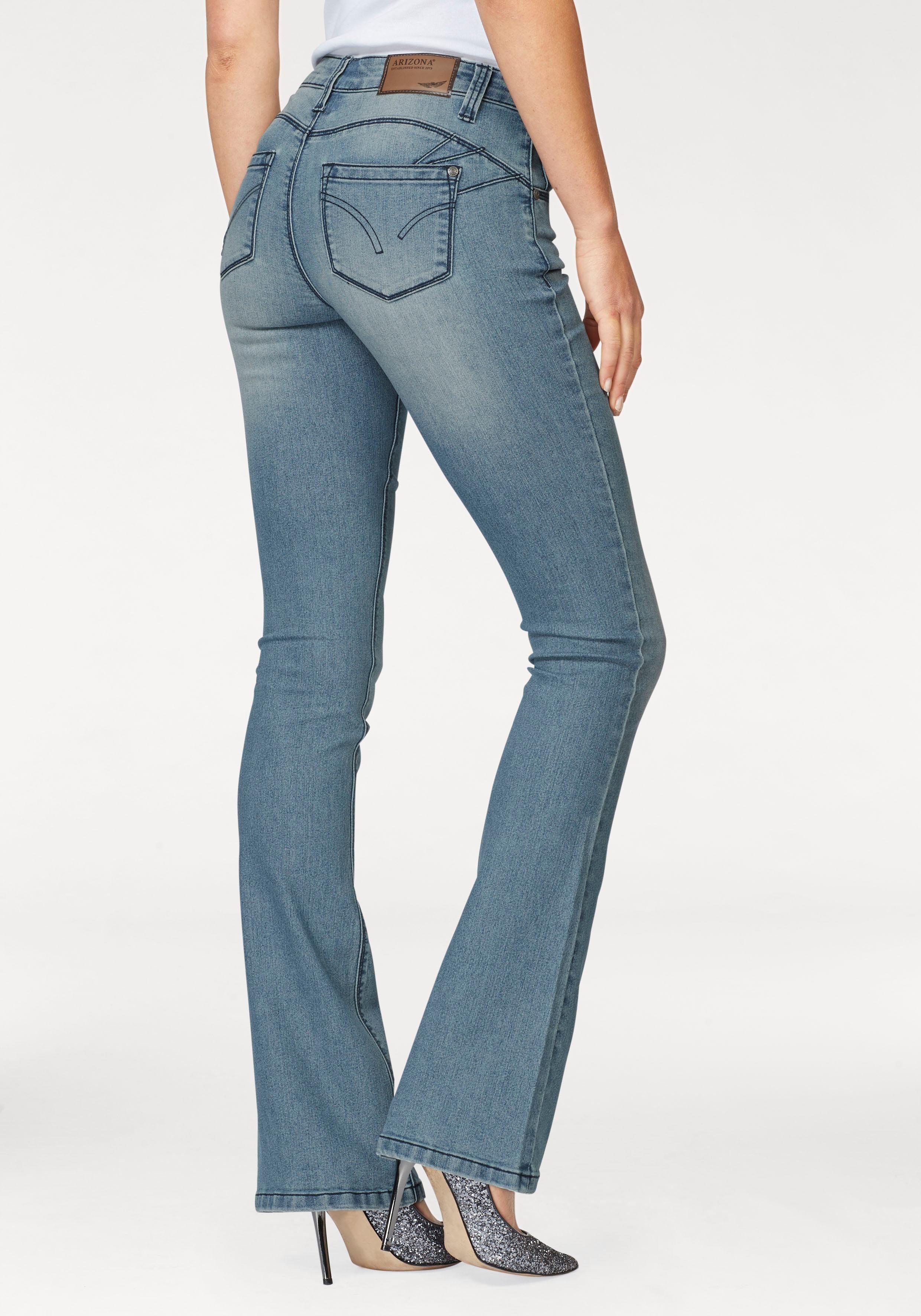 Arizona Bootcut Jeans »Shaping« Mid Waist kaufen   OTTO