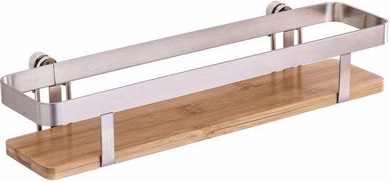 WENKO Gewürzregal »Premium«, mit Befestigung ohne Bohren, Ablagefläche ca. 30 x 7 cm