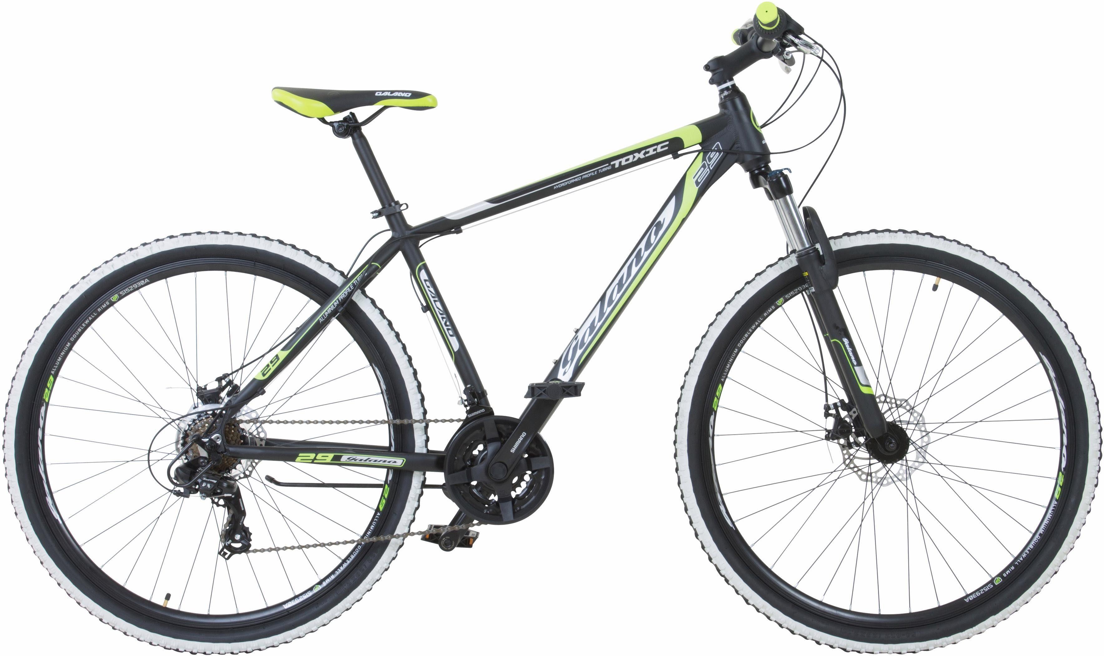 Galano Mountainbike »Toxic«, 21 Gang Shimano Tourney Schaltwerk, Kettenschaltung