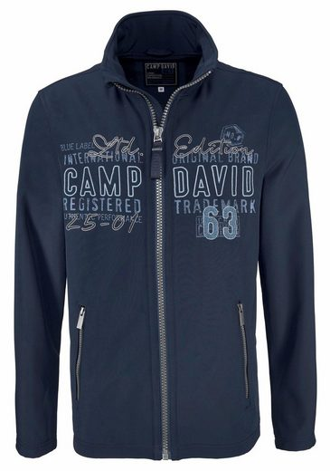 CAMP DAVID Softshelljacke