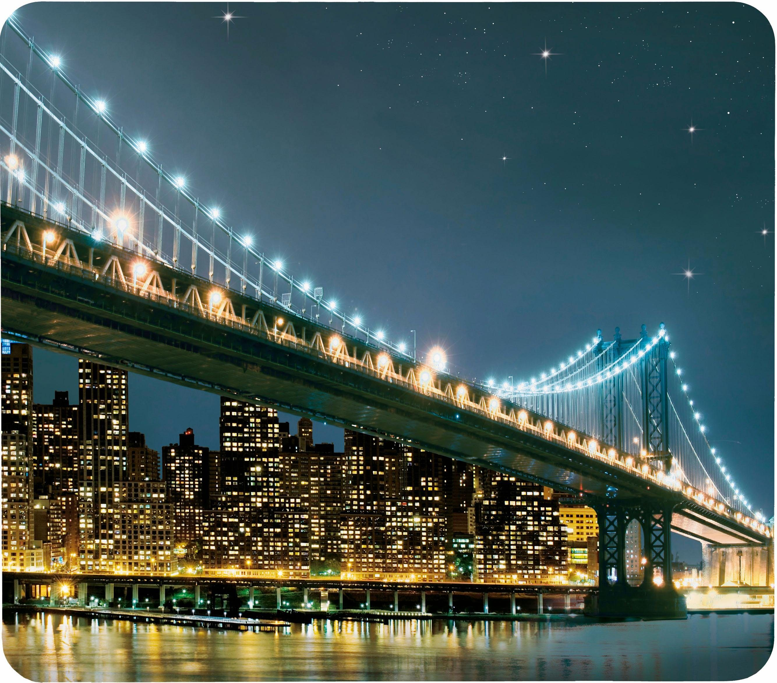 Wenko XL-Abdeckplatte, 50 x 56 cm, »Brooklyn Bridge«