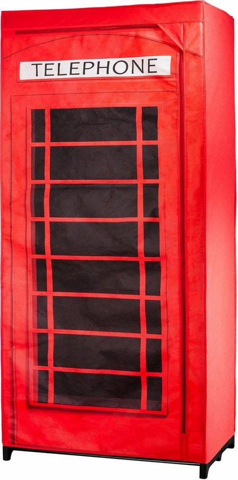 wenko kleiderschrank telefonzelle gro britannien online. Black Bedroom Furniture Sets. Home Design Ideas