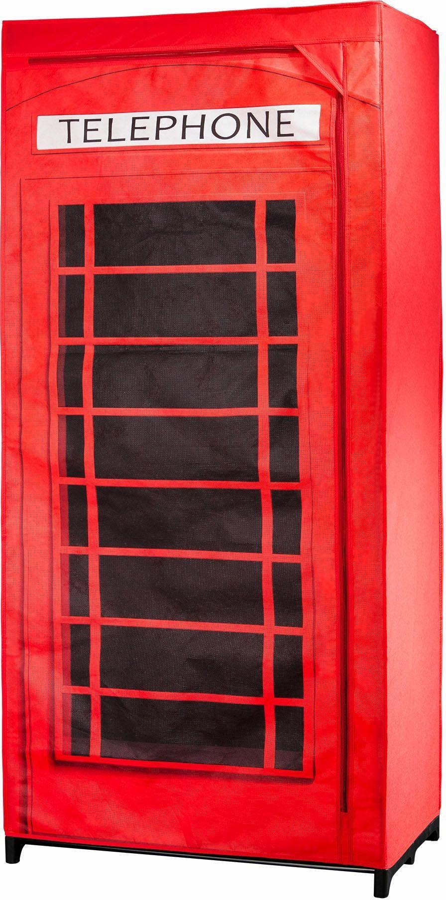 Wenko Kleiderschrank, »Telefonzelle Großbritannien«