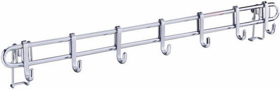 WENKO Hakenleiste »Style«, 60 cm, mit Befestigung ohne Bohren