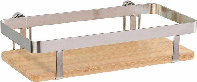 WENKO Gewürzregal »Premium«| mit Befestigung ohne Bohren| Gr. 25 x 12 cm | Küche und Esszimmer > Küchenregale > Gewürzregale | Wenko