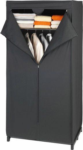 WENKO Kleiderschrank »Deep Black« Maße (B x H x T): 75 x 160 x 50 cm