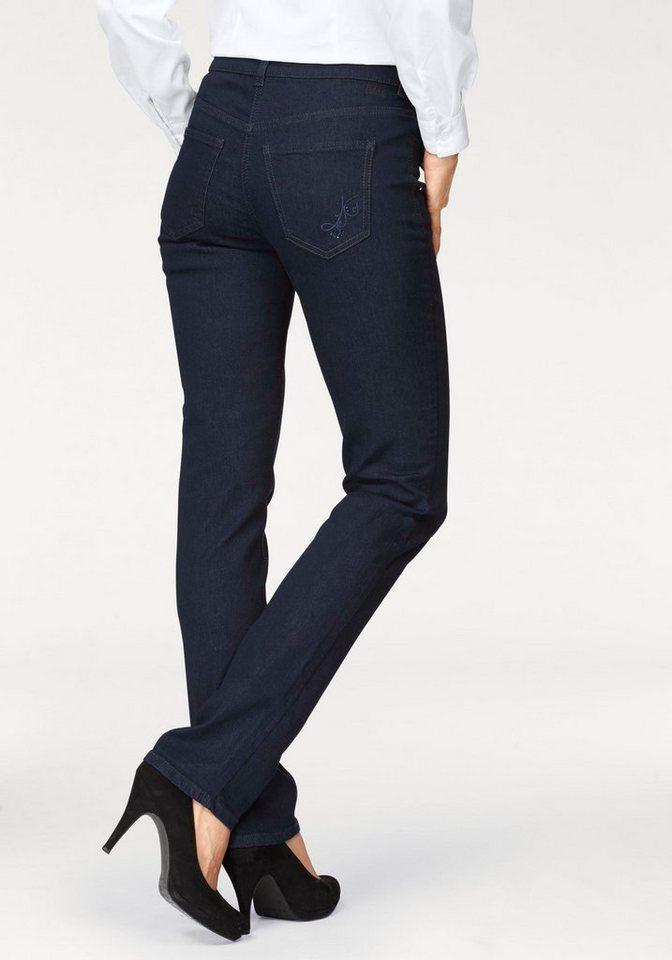 mac stretch jeans angela glam line mit stickerei und. Black Bedroom Furniture Sets. Home Design Ideas