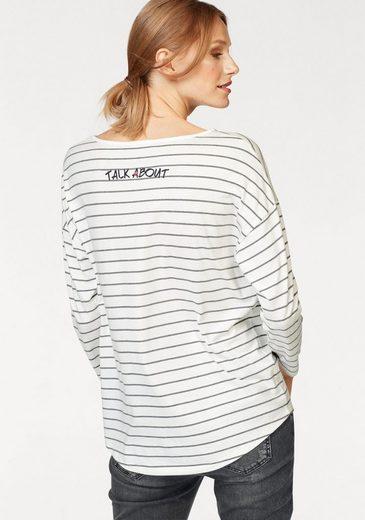 talk about T-Shirt, mit modischen Details