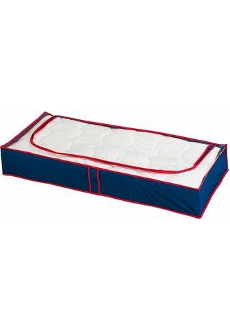 WENKO Medžiaginės dėžės daiktams »Blau-Rot« ...