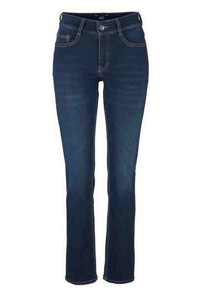 MAC Stretch-Jeans zum Karo-Blazer