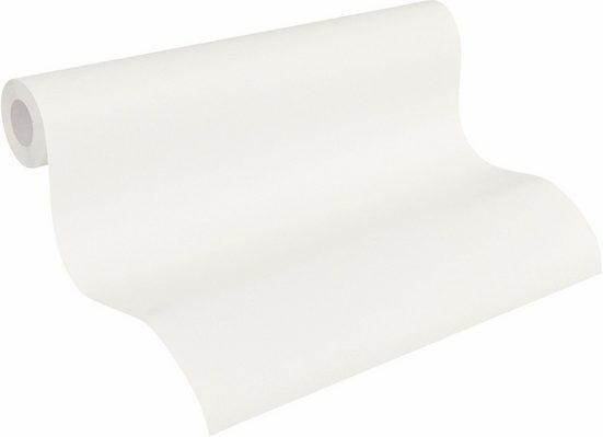 Vliestapete »Del Sol«, uni, einfarbig, neutral, strukturiert