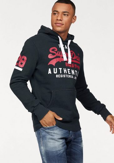 Superdry Kapuzensweatshirt VINTAGE LOGO AUTHENTIC DUO HOOD