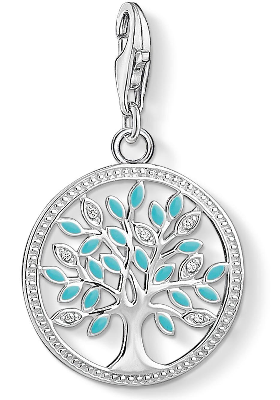 THOMAS SABO Charm-Einhänger »Lebensbaum, 1469-041-17« mit Zirkonia