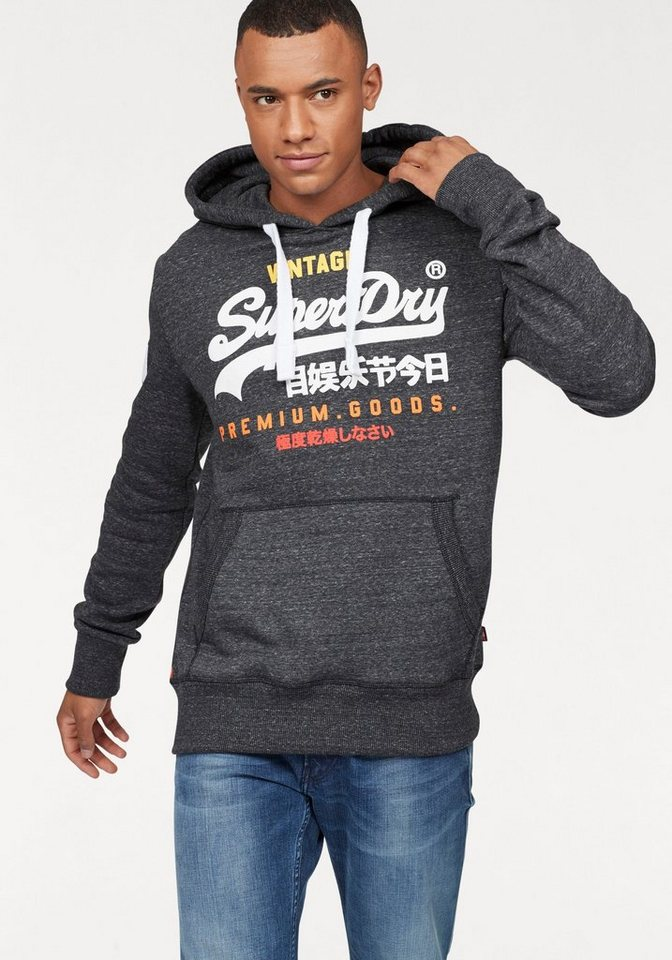 superdry kapuzensweatshirt premium goods tri hood online. Black Bedroom Furniture Sets. Home Design Ideas