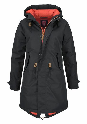 Derbe Funktionsjacke Watt`n Winter, in Parka-Form