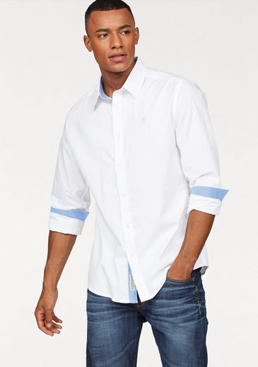 Bruno Banani Shirt, With Contrasting Inserts