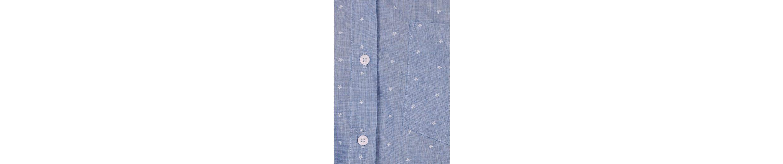 Tom Tailor Hemdbluse, im femininen Krawatten-Design