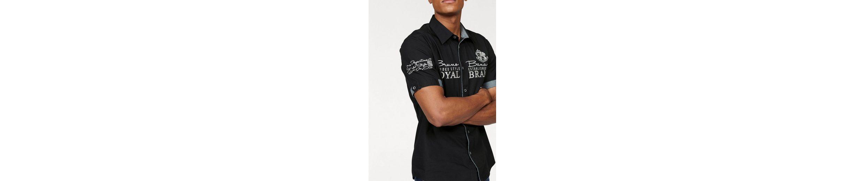 Bruno Banani Hemd, mit hochwertigen Stickereien