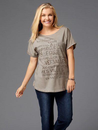 Janet und Joyce by Happy Size Shirt oil wash