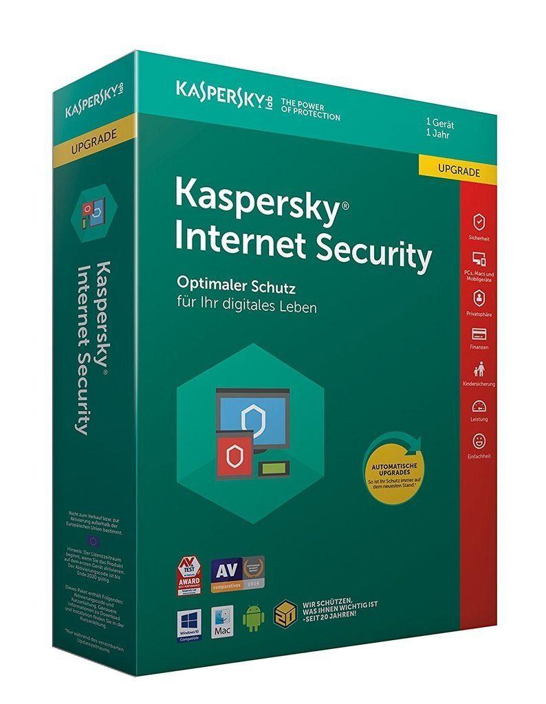 Kaspersky Software »Kaspersky Internet Security Upgrade (CIAB)«