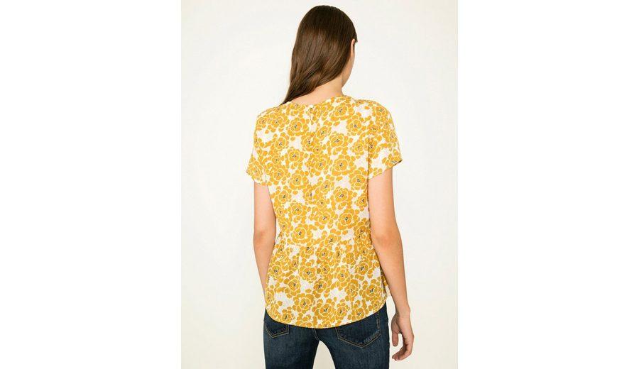 Pieces Blumen bedrucktes Peplum- T-Shirt Spielraum Zuverlässig Bekommen Günstigen Preis Zu Kaufen Günstige Rabatte 3xg3EU