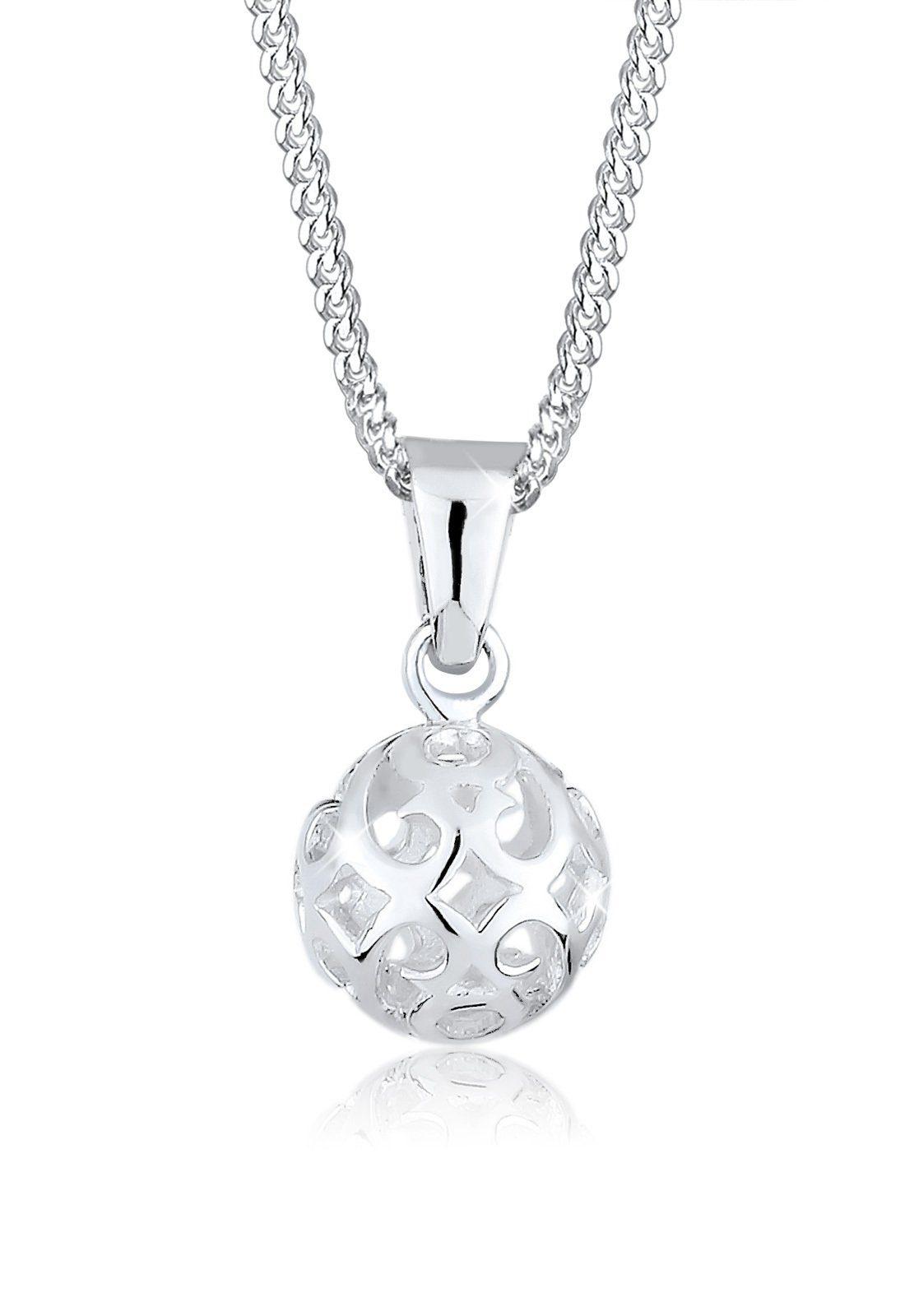 Elli Halskette »Kugel Ornament Verspielt 925 Sterling Silber«