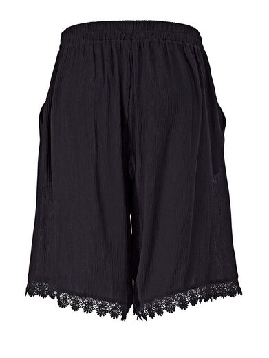Angel of Style by Happy Size Shorts mit Spitze