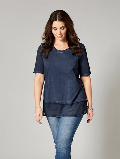 Sara Lindholm by Happy Size Shirt oil wash
