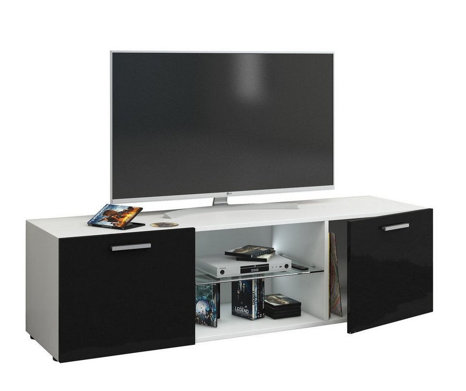 vcm tv wandboard jusa hochglanz online kaufen otto. Black Bedroom Furniture Sets. Home Design Ideas