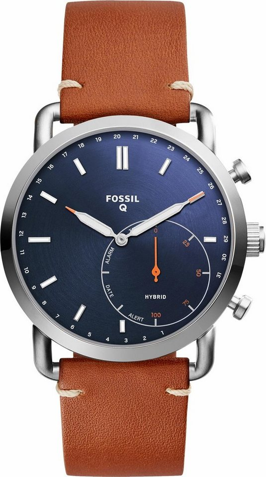 fossil q q commuter ftw1151 smartwatch android wear online kaufen otto. Black Bedroom Furniture Sets. Home Design Ideas