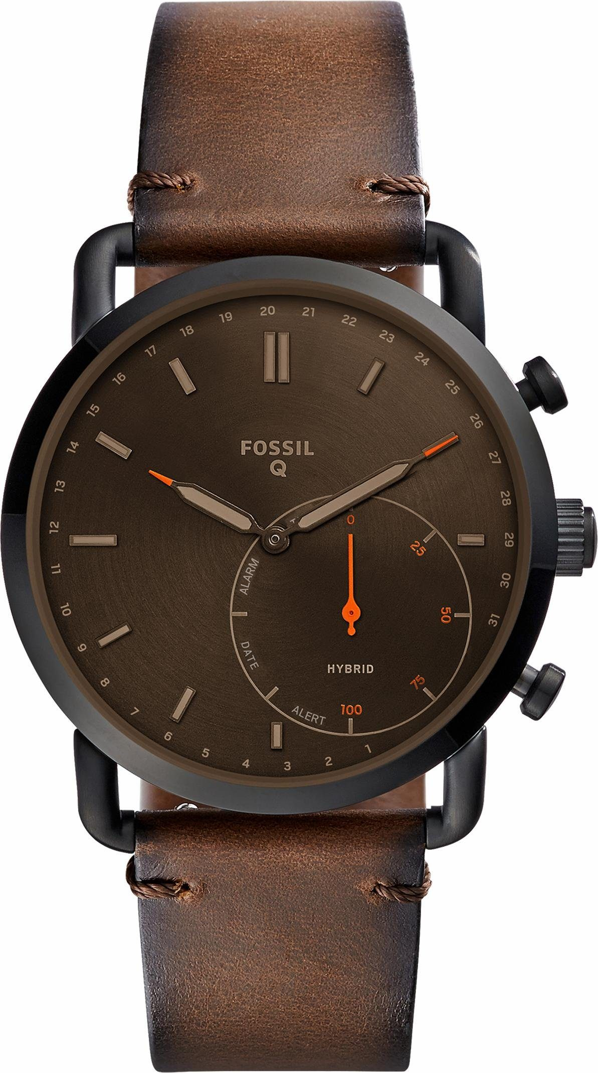 FOSSIL Q Q COMMUTER, FTW1149 Smartwatch (Android Wear)