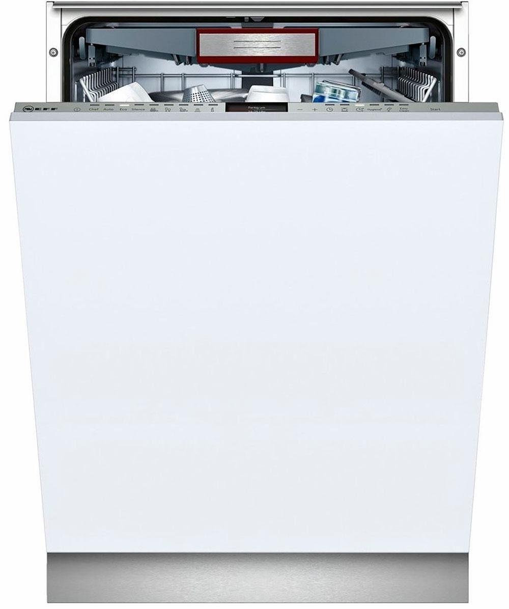 NEFF vollintegrierbarer Geschirrspüler Serie 6, GX6801TVS / S726T80X1E, 9,5 l, 14 Maßgedecke