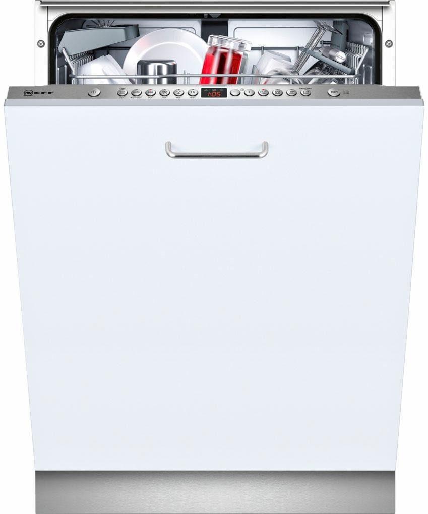 NEFF Vollintegrierbarer Einbaugeschirrspüler GX4600I / S523I60X0E, A++, 9,5 Liter, 13 Maßgedecke