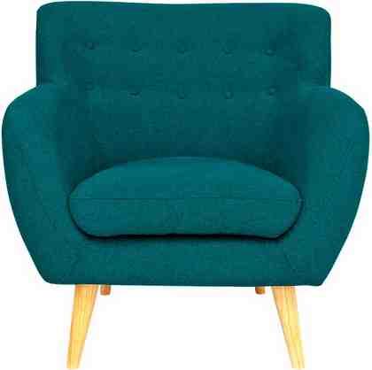 Home affaire Sessel »Noris« mit Zierknopfheftung im Rücken, skandinavischer Stil, Holzfüße