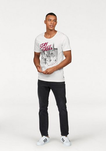 Jack & Jones T-Shirt INVERT TEE SS U-NECK