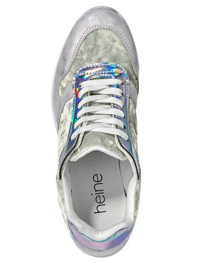 Heine Sneaker Avec Velours