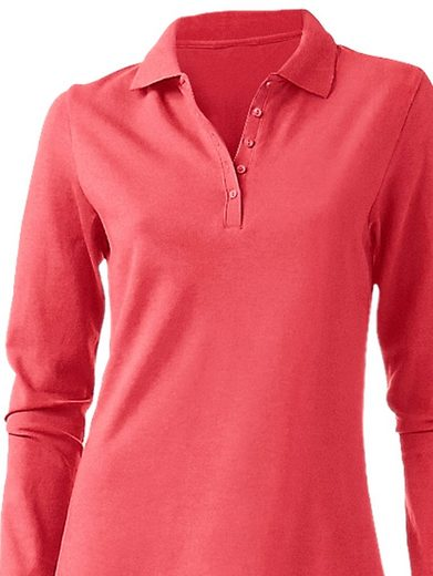 B.C. BEST CONNECTIONS by Heine Langarm-Poloshirt