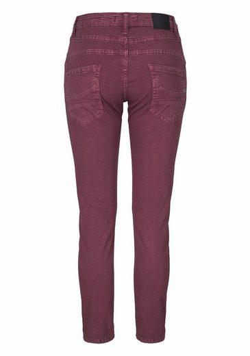 Please Jeans Boyfriend-Hose P78A, mit prägnanter Knopfleiste