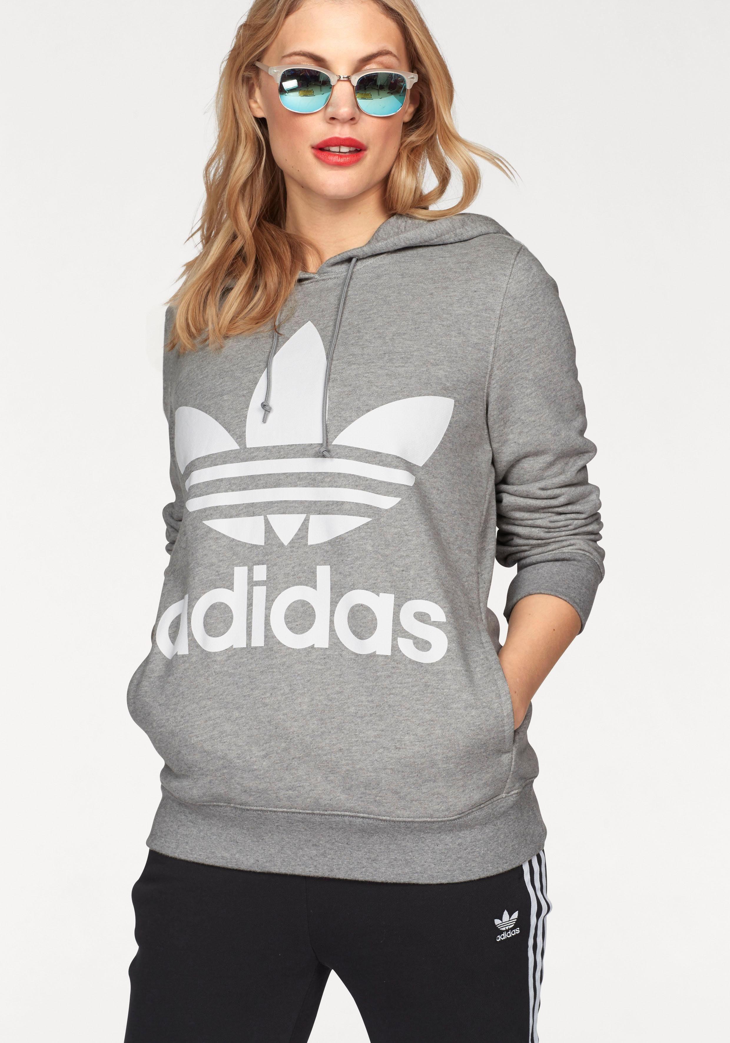 adidas Originals Sweatshirt »TREFOIL HOODIE« Reine Baumwolle online kaufen | OTTO