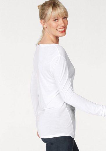G-Star RAW Langarmshirt Audnya, mit Brusttasche